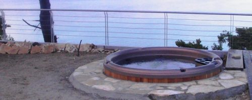 hottub before