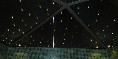 sauna ceiling