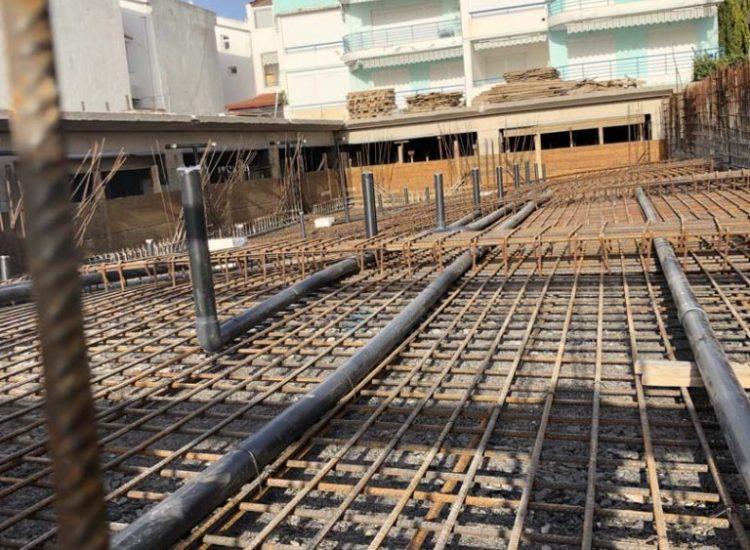 κατασκευή σιντριβάνι